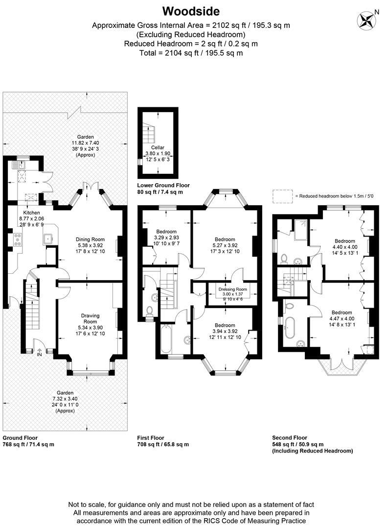 Floorplan for Woodside, London
